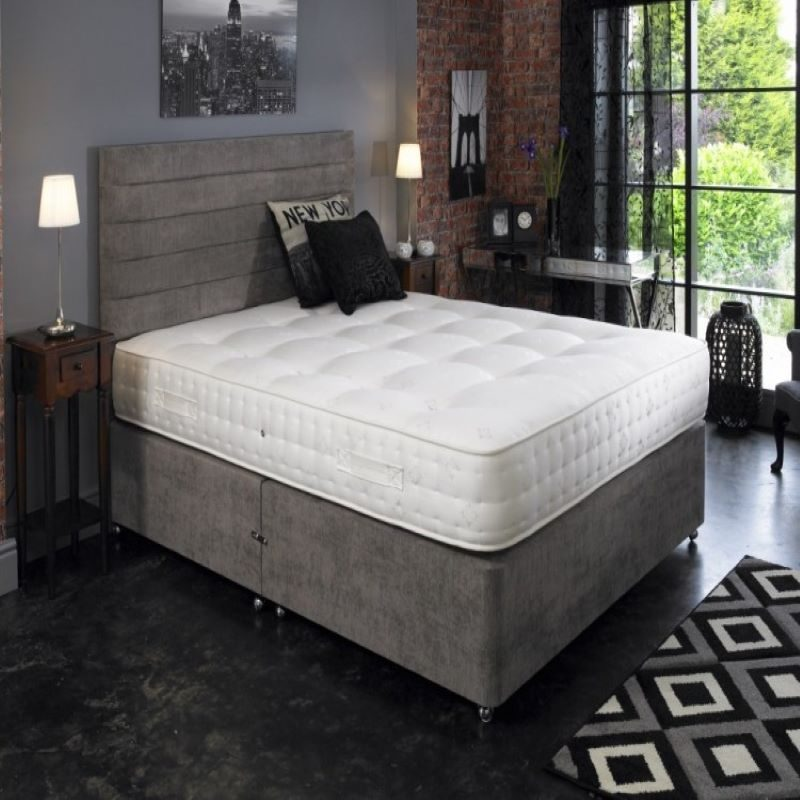 La Romantica Opus 3000 Pocket Divan Bed | Bishops Beds | Divan Bed with free delivery