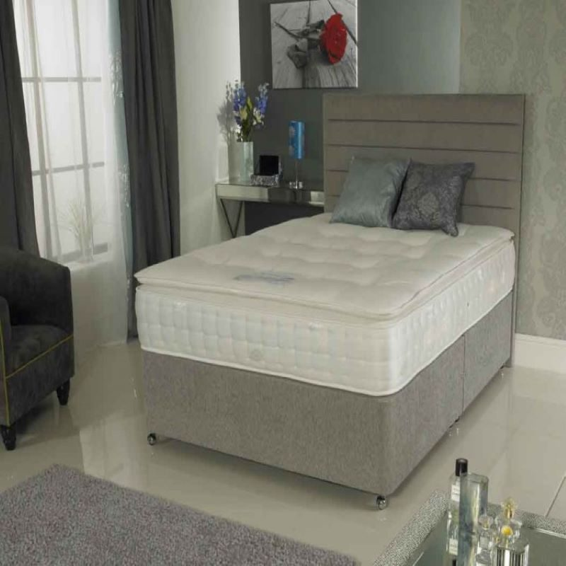 La Romantica 1000 Pillowtop Divan Bed | Bishops Beds | Free Delivery Available