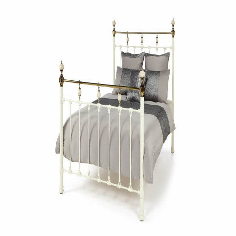 Abigail Cameo Ivory Bed Frame