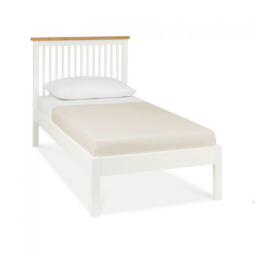 Bentley Designs Atlanta 2 Tone Wooden Bed Frame Low Foot End