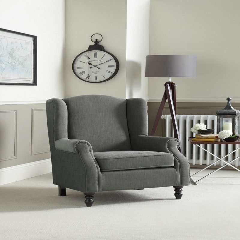 Ayr Grey Chair | Occasional Chairs | Armchairs