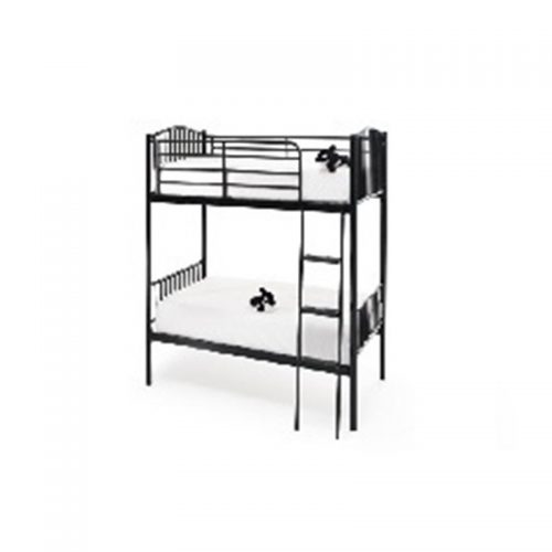 Oslo Twin Bunk Black | Bunk Beds | Childrens Beds