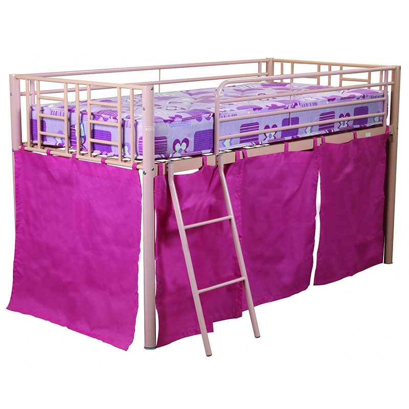 Pink Razzle Midi Bunk Bed from Sweet Dreams | Bunk Beds | Kids Beds
