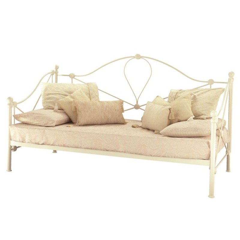 Ivory Lyon Day Bed from Serene | Bishops Beds