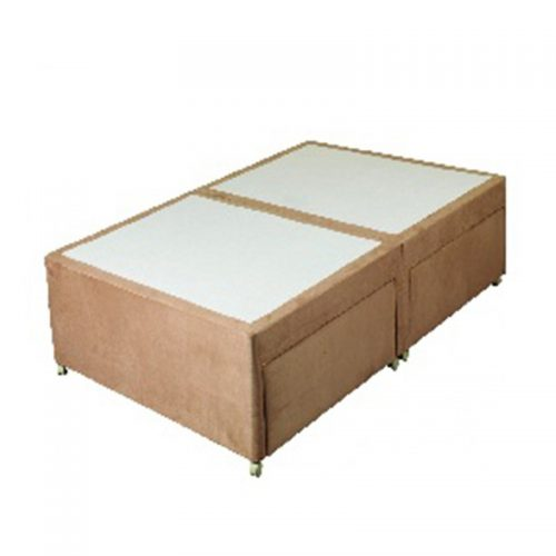 Sweet Dreams Amber Faux Suede Bed Base | Bishops Beds