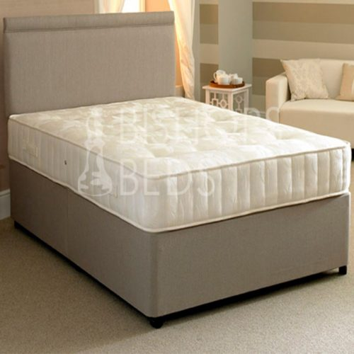 Bishops Beds Executive 1200 Pocket Divan Contract Bed