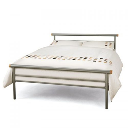 Celine Metal Bed Frame from Serene | Cheap Beds