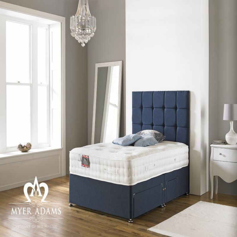 Myer Adams Backcare Memory 2000 Divan Bed | Bishops Beds