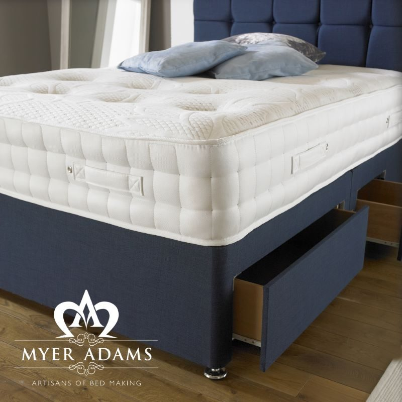 Myer Adams Backcare 2000 Memory Divan Bed