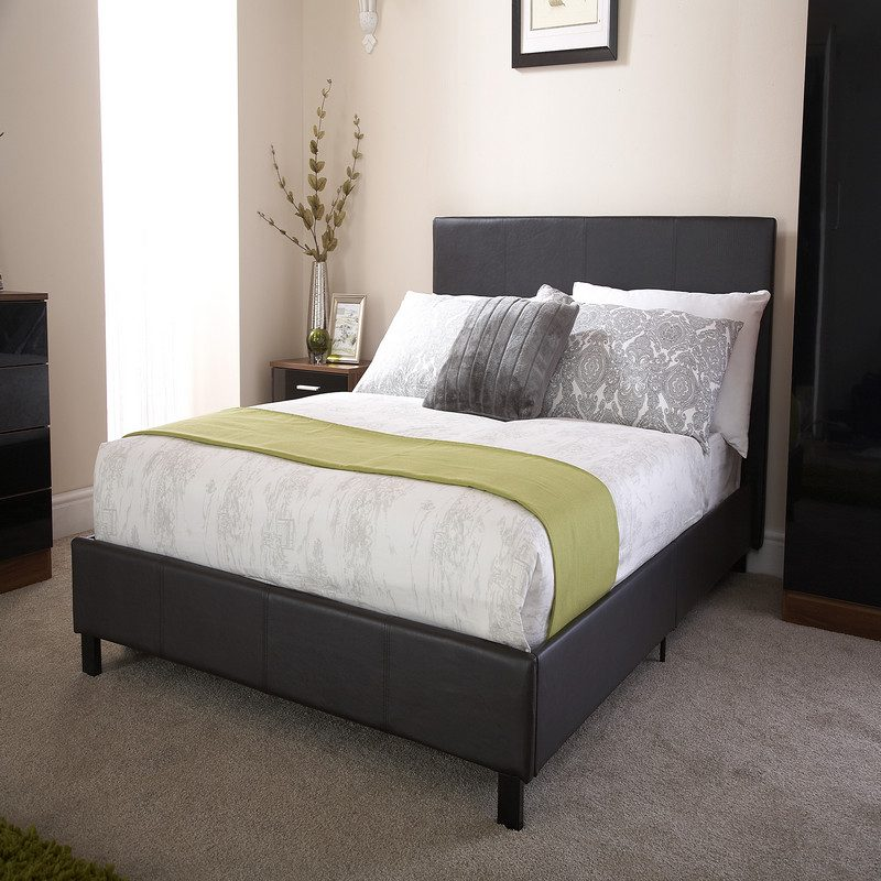 Bed in a Box in Black   Beds With Free Delivery   Bishops Beds