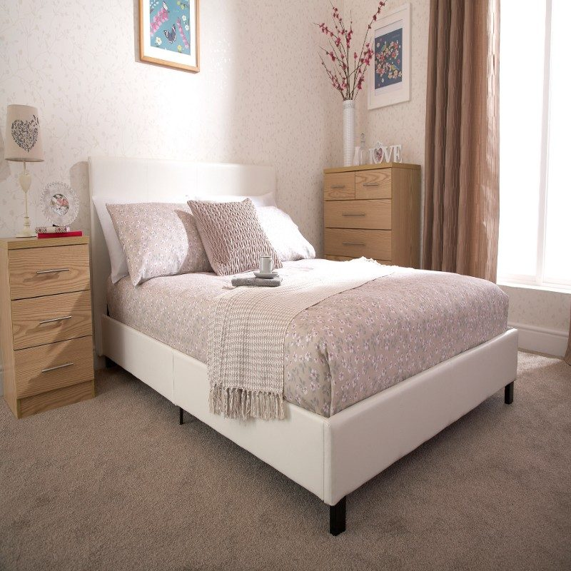 Bed in a Box in White   Beds With Free Delivery   Bishops Beds