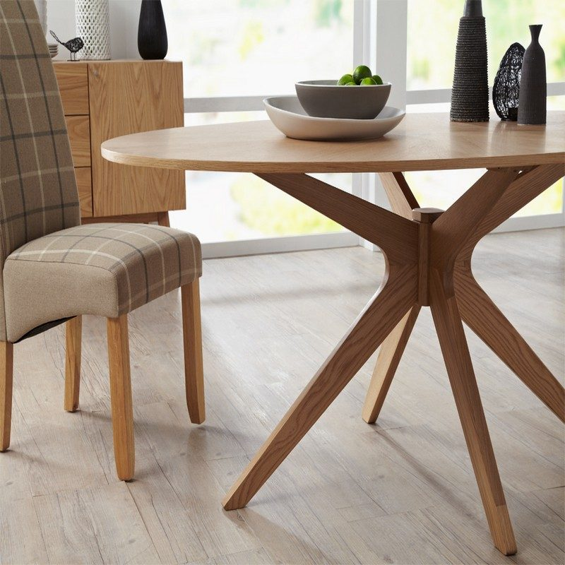 Bexley Oval Oak Dining Table | Dining Room Furniture