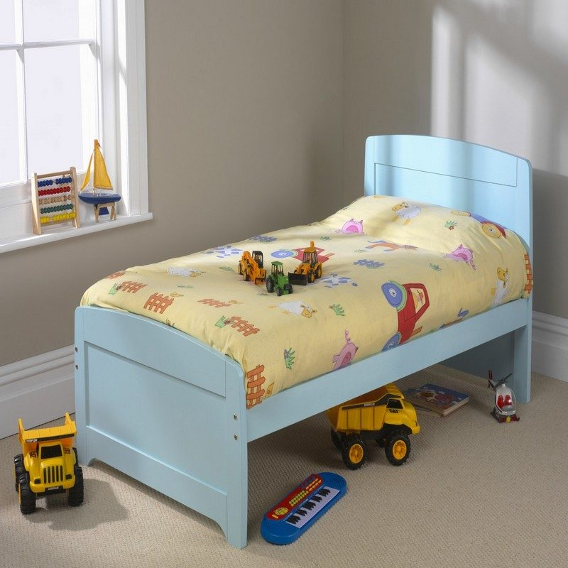 Blue Wooden Boys Bed | Childrens Beds