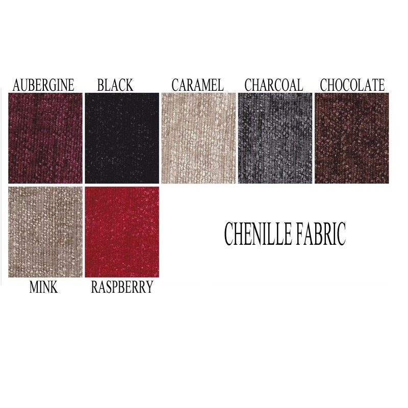 Chenille Fabric Bed Base | Dura Beds