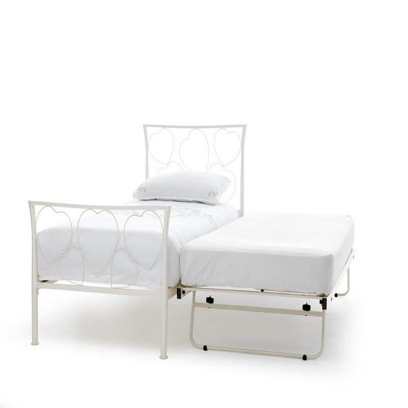 Cloe White Guest Bed | Pull Out Bed