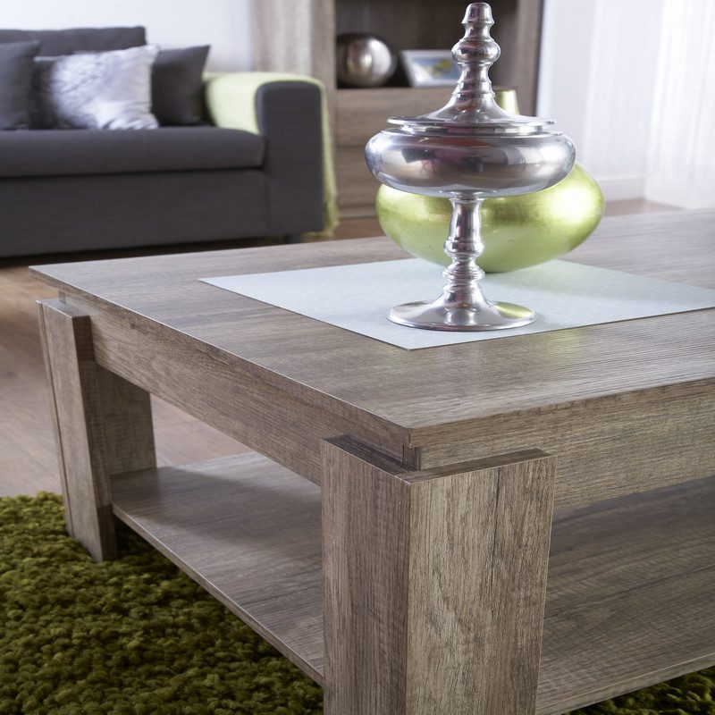 Canyon Oak Coffee Table | Furniture | Bishops Beds
