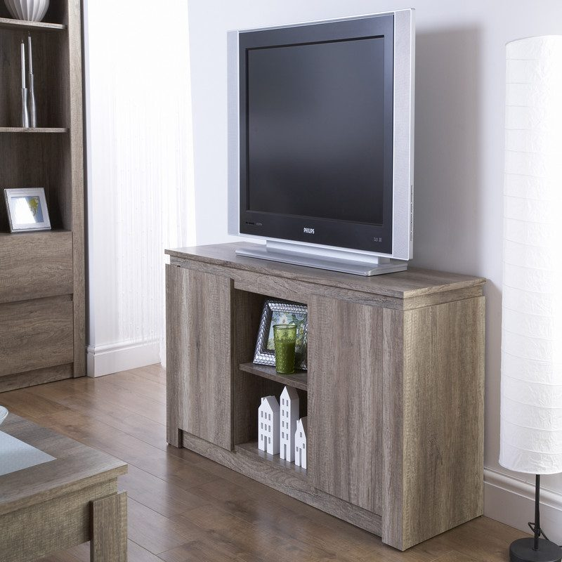 Canyon Oak TV Unit | TV Stand | Bishops Beds