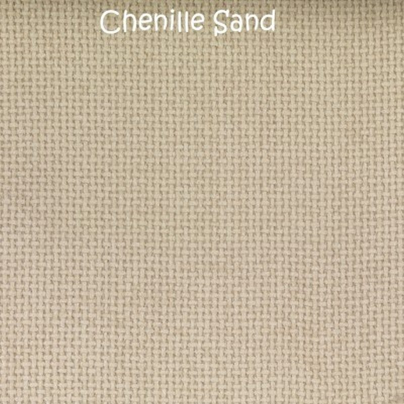 Amber Chenille Bed Base from Sweet Dreams - Sand