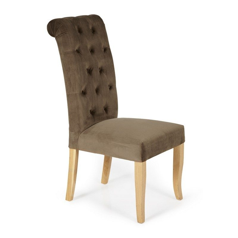 Chiswick Mushroom Chair | Dining Chairs | Bishops Beds