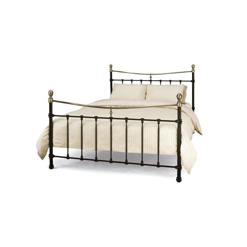 Edwardian II Metal Bed from Serene Furnishings