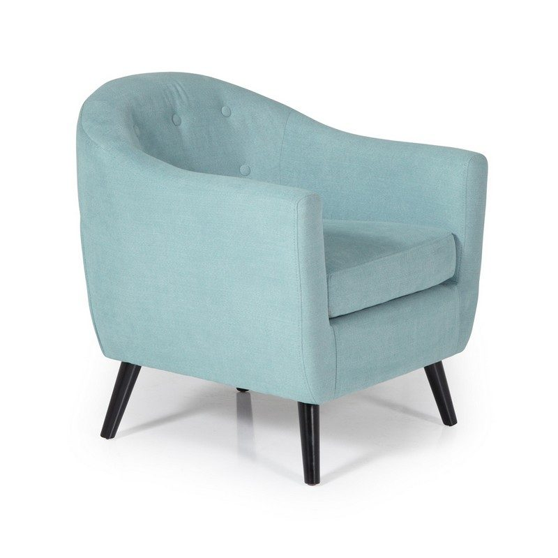 Evie Duck Egg Chair   Occasional Chairs   Armchairs