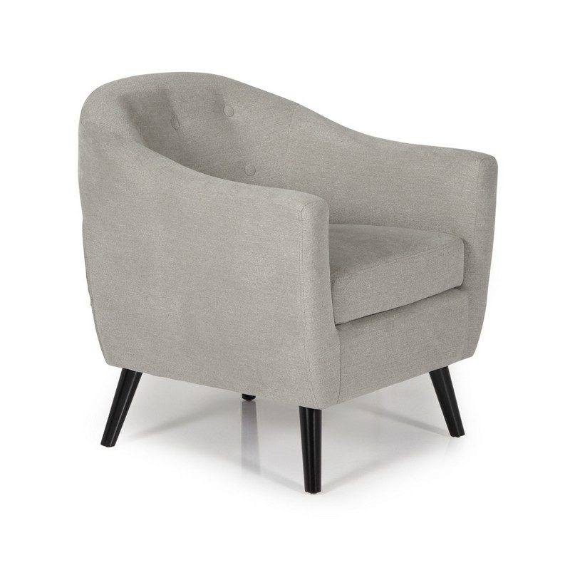 Evie Grey Chair | Occasional Chairs | Armchairs