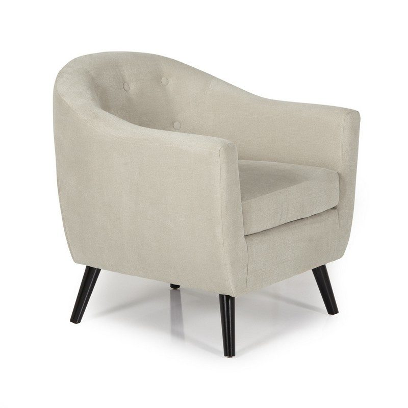 Evie Mink Chair | Occasional Chairs | Armchairs