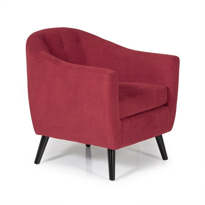 Evie Red Chair | Occasional Chairs | Armchairs