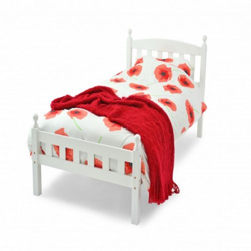 White Florence Bed Frame From Metal Beds Ltd | Beds with Free Delivery