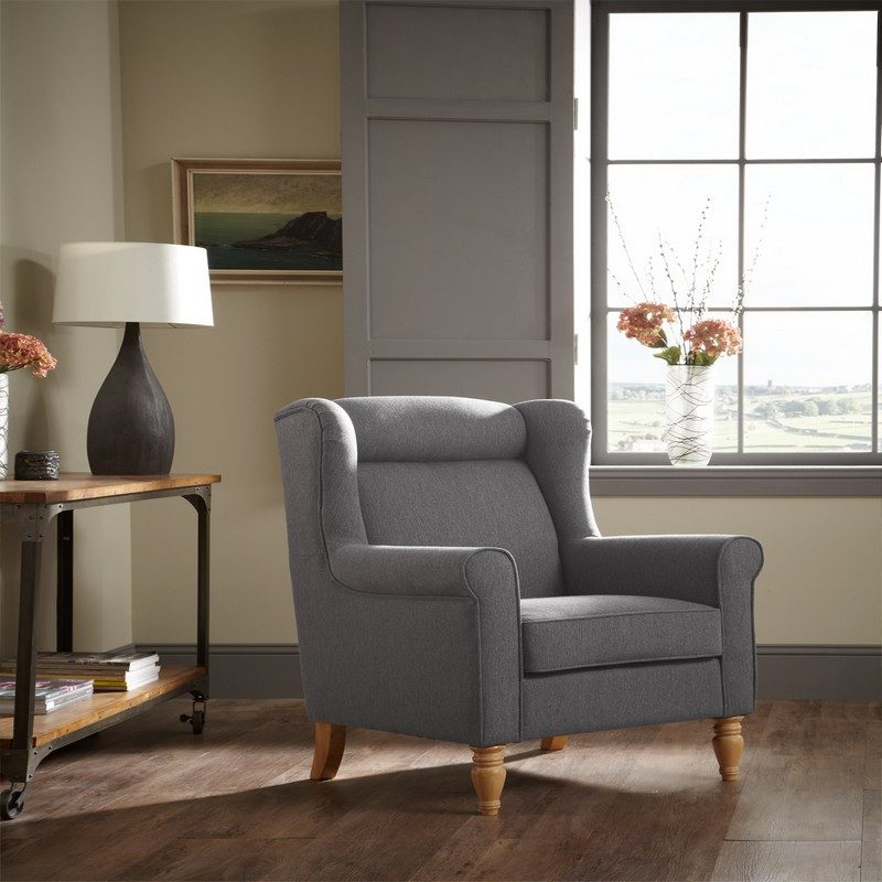 Glasgow Grey Chair | Occasional Chairs | Armchairs