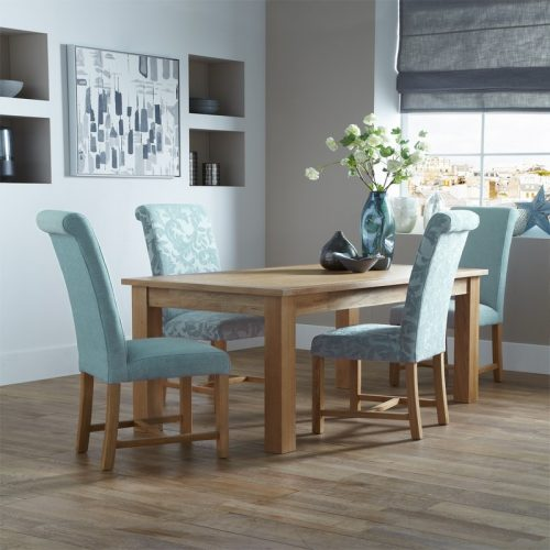 Greenwich Floral Duck Egg Furniture Set | Dining Furniture | Bishops Beds