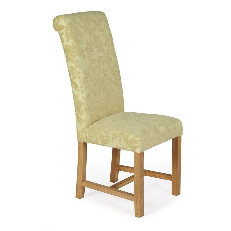 Greenwich Floral Oatmeal Chairs | Dining Chairs | Bishops Beds
