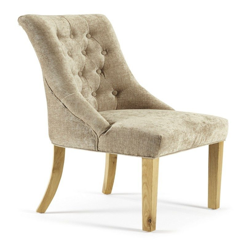 HAMPTON_OAK_CHAIRS_NELSON_MINK | Dining Chairs | Bishops Beds