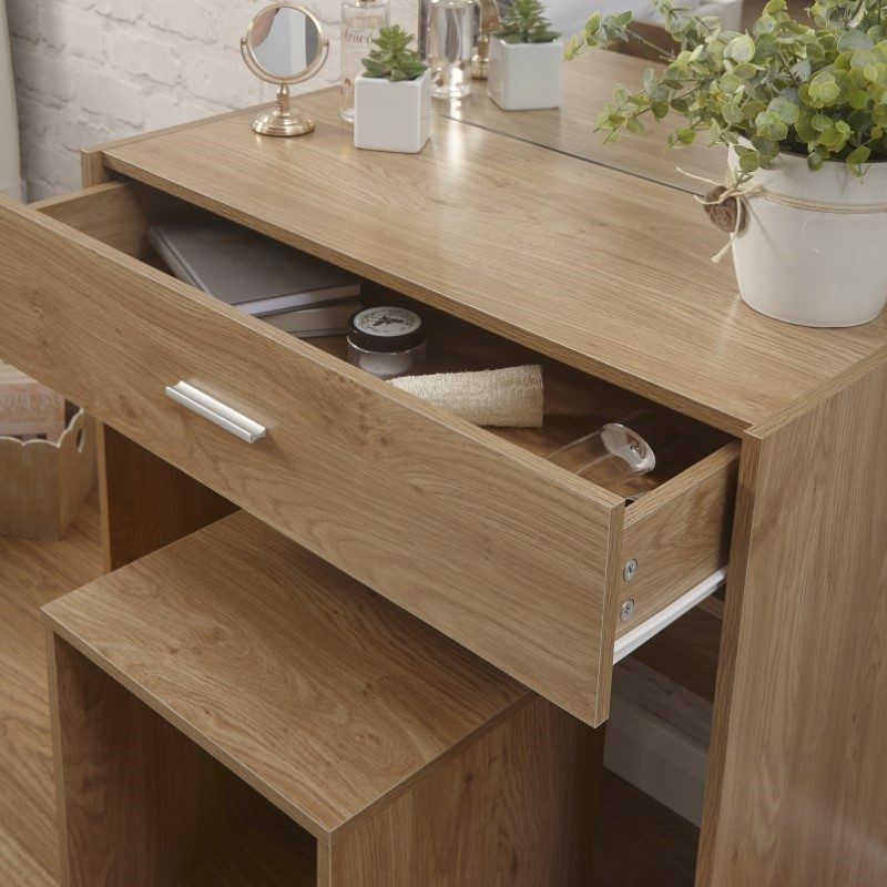 Julia Dressing Table & Stool Set | Bedroom Furniture | Bishops Beds