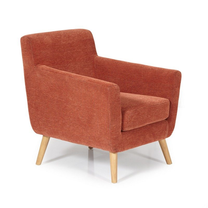 Kelso Orange Chair | Occasional Chairs | Armchairs