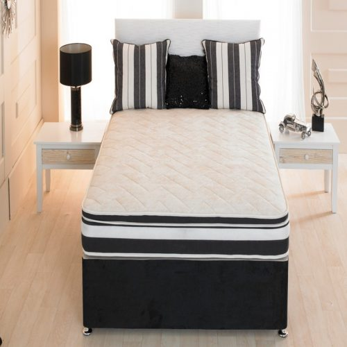 Memory Foam No Turn Relax Divan | Myer Adams | Cheap beds with free delivery