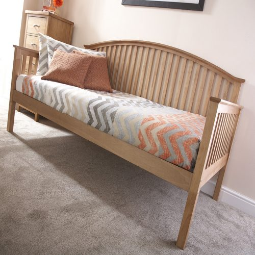 Madrid Oak Day Bed | Guest Beds