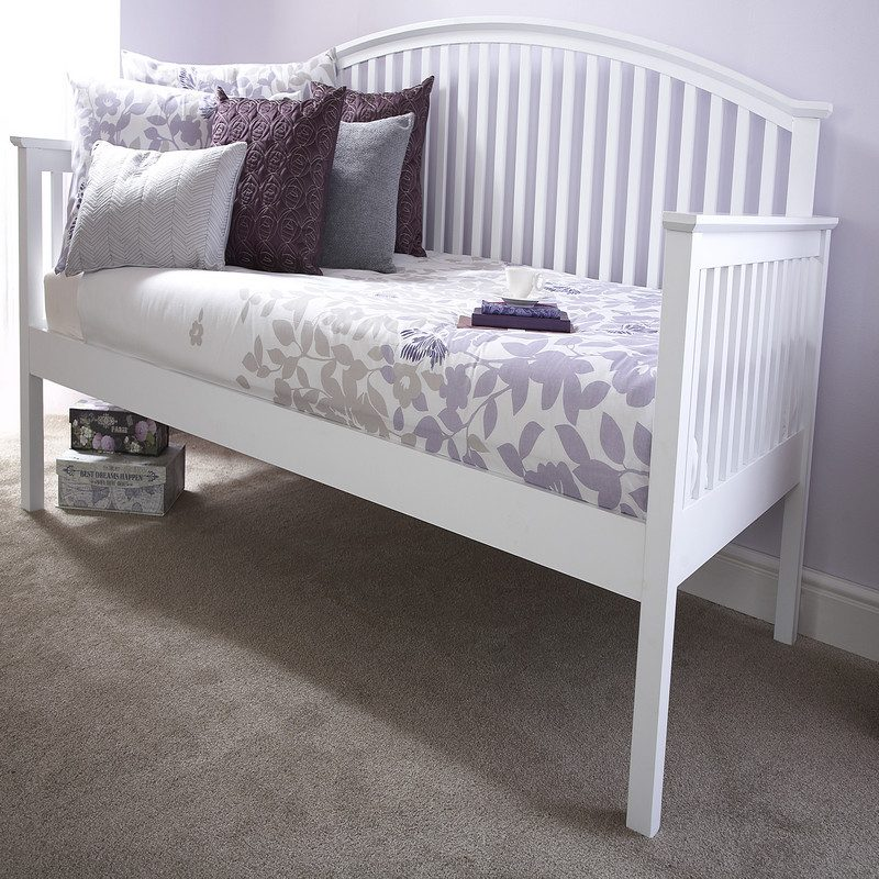 Madrid Day Bed White | Guest Beds