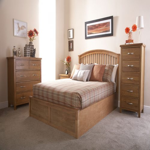 Madrid Solid Wood Storage Bedstead from GFW | Storage Beds | Beds with Storage