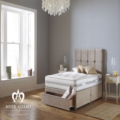 Memory Pocket Silk Divan Bed - Myer Adams