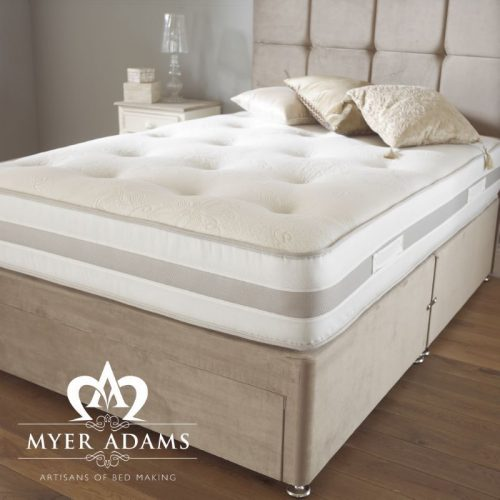 Memory Pocket Silk Mattress from Myer Adams