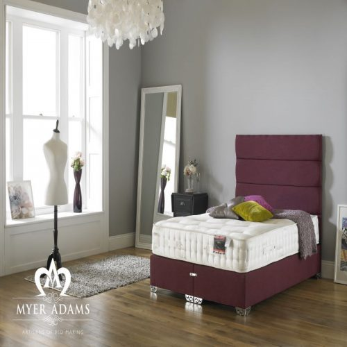 Myer Adams Natural Sleep 1500 Divan Bed | Bishops Beds