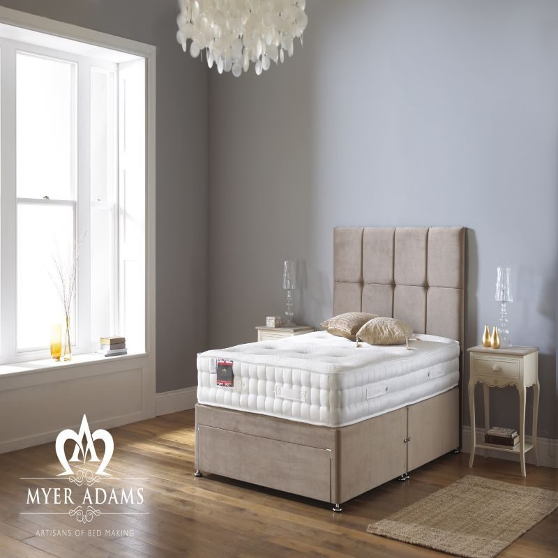 Myer Adams Natural Sleep 2000 Divan Bed | Bishops Beds