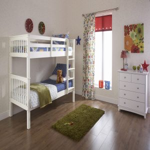 Novaro Bunk Bed | Wooden Bunk Beds | Kids Beds | Childrens Beds