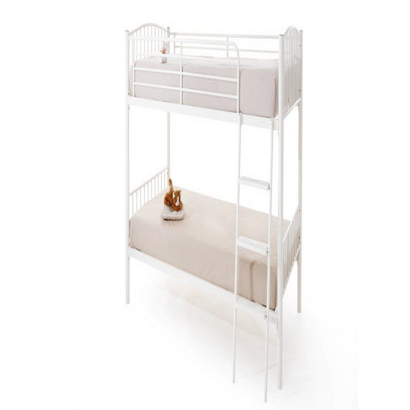 Oslo Twin Bunk White | Bunk Beds | Childrens Beds