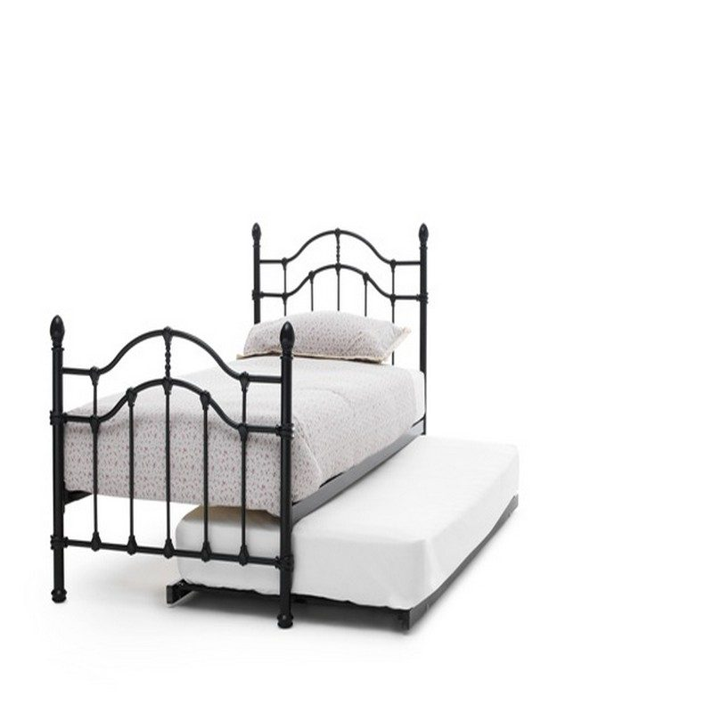 Paris Black Guest Bed | Pull Out Bed