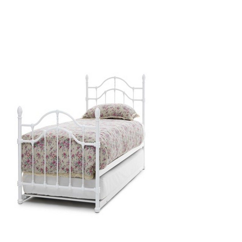 Paris White Guest Bed | Pull Out Bed