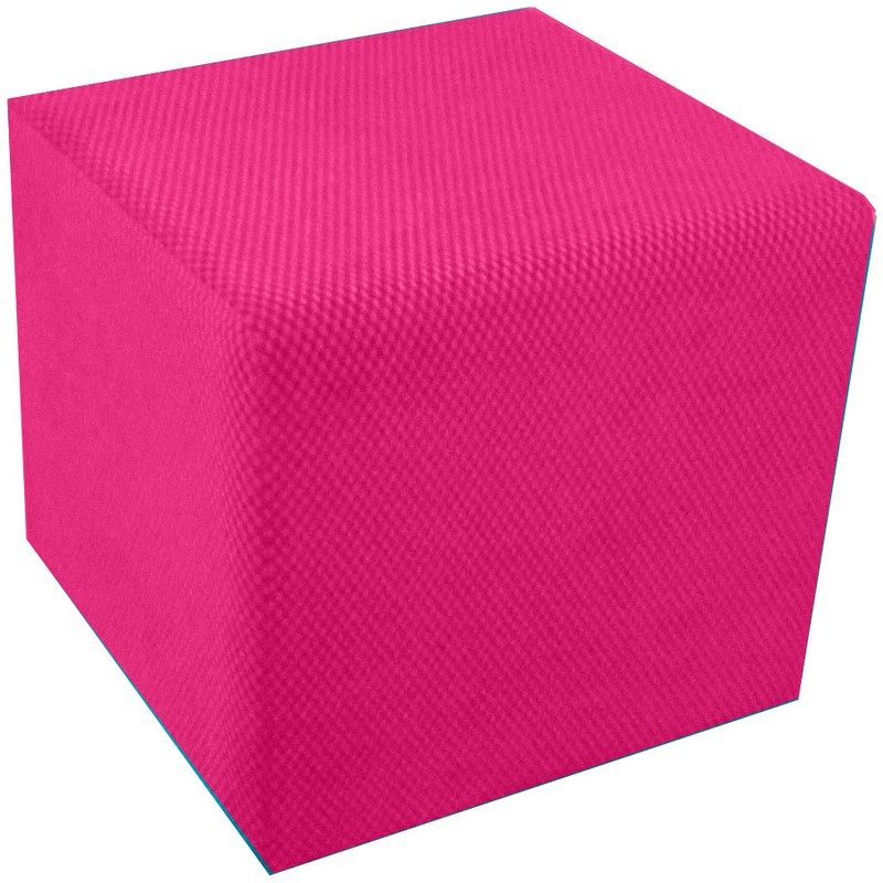 Pink Cube Seat from Bishops Beds