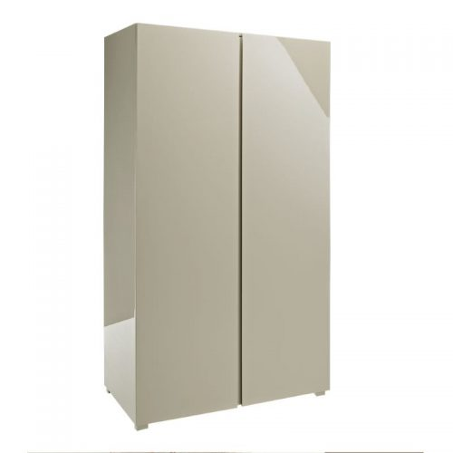 Puro High Gloss 2 Door Wardrobe | Bishops Beds | Bedroom Furniture