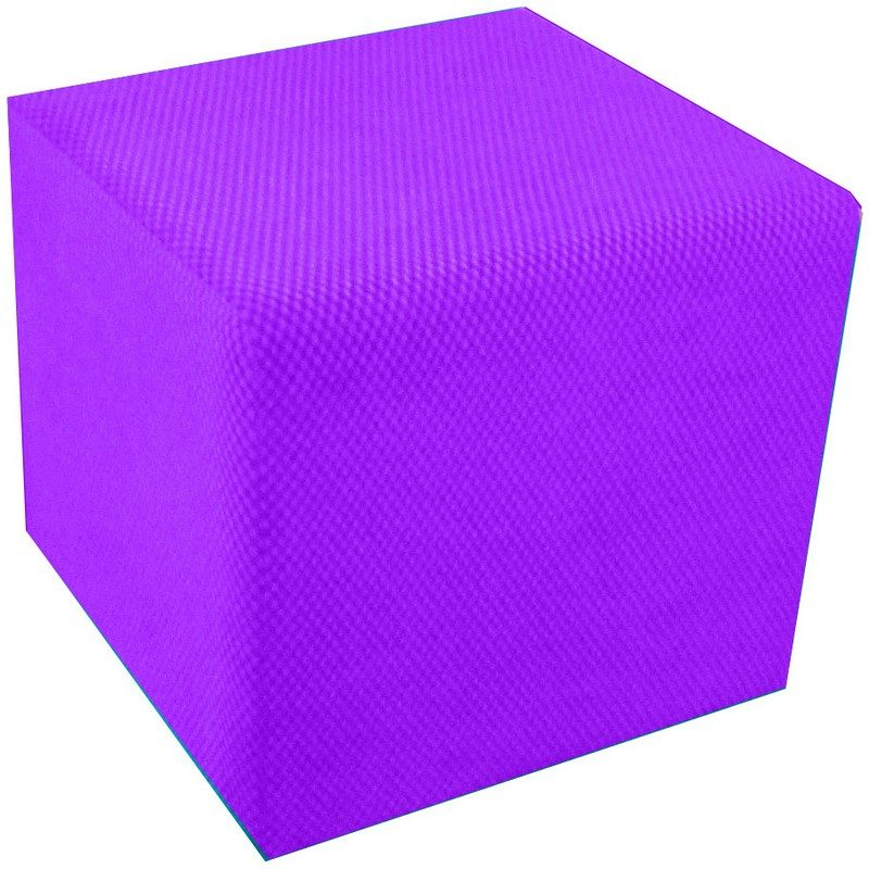 Purple Cube Seat from Bishops Beds